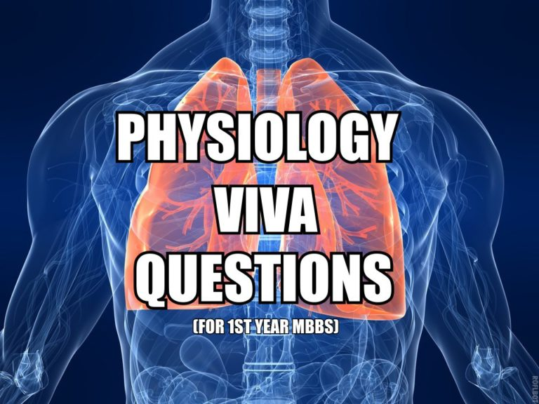 Anatomy viva questions