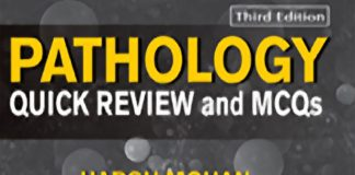 Harsh Mohan - Pathology Quick Review and MCQs, 3rd Edition (Book Cover)