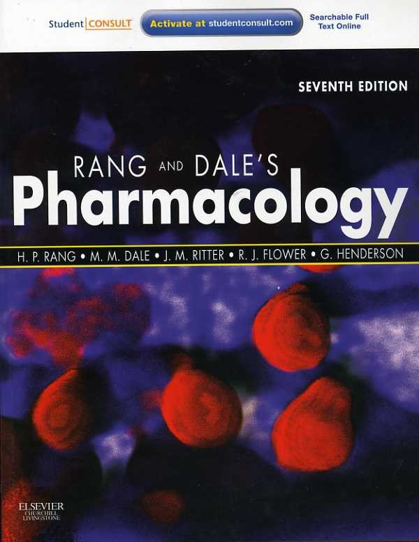 Rang and Dale Pharmacology Book (Cover Image)