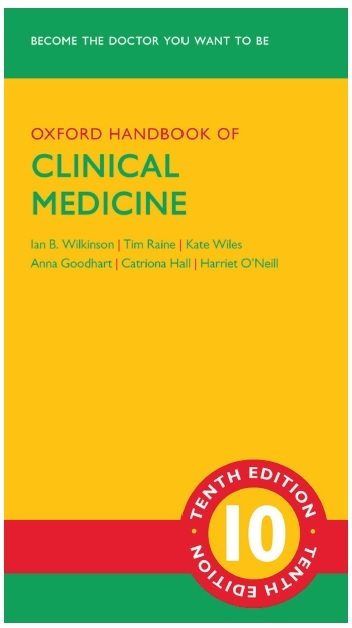 Oxford Handbook of Clinical Medicine 10th Edition