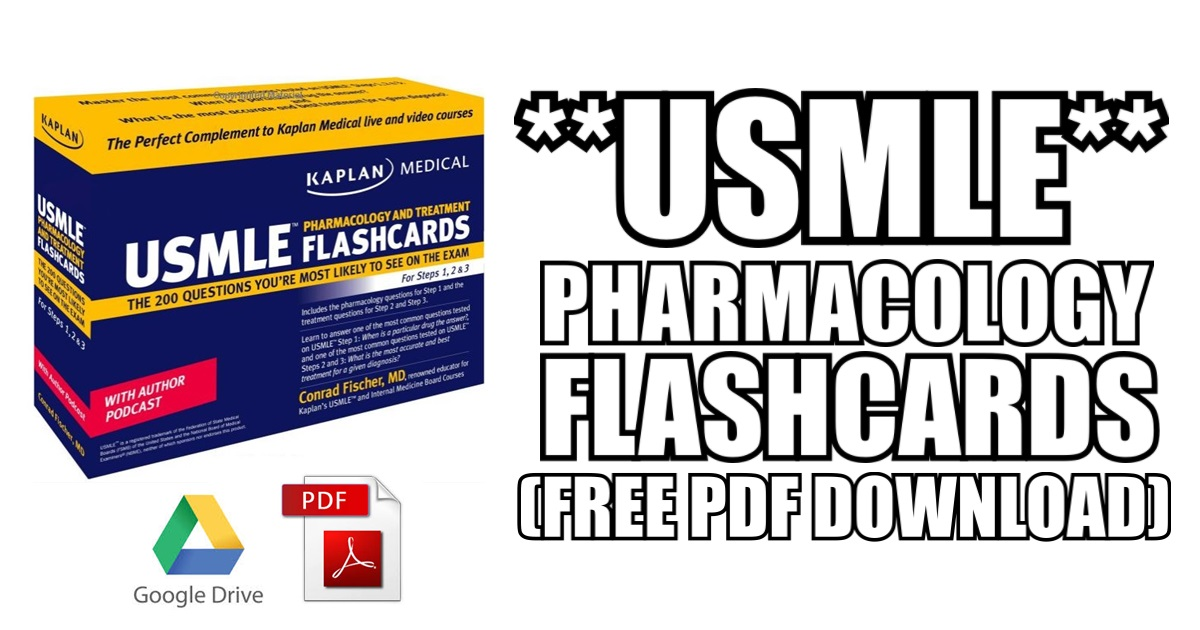 Pharmacology Flash Cards Pdf Zrom