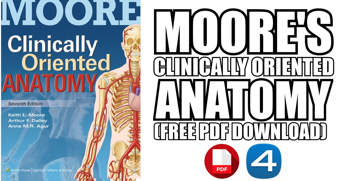 Moore\'s Clinically Oriented Anatomy 7th Edition PDF Free Download
