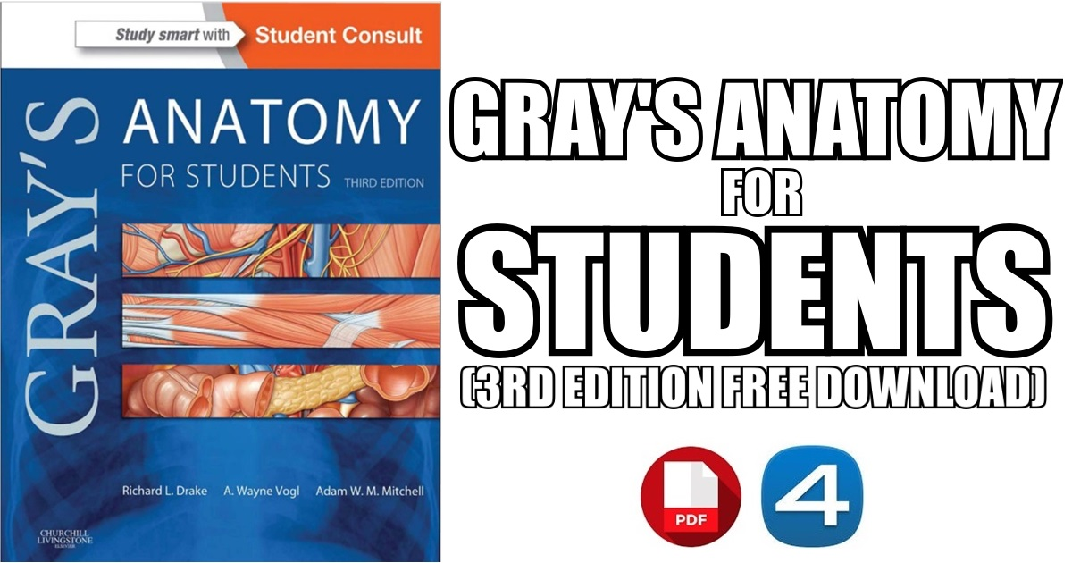 Gray\'s Anatomy for Students 3rd Edition PDF Free Download [Direct Link]
