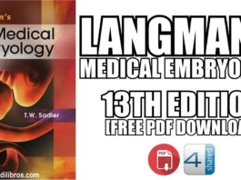 Langman's Medical Embryology 13th Edition PDF