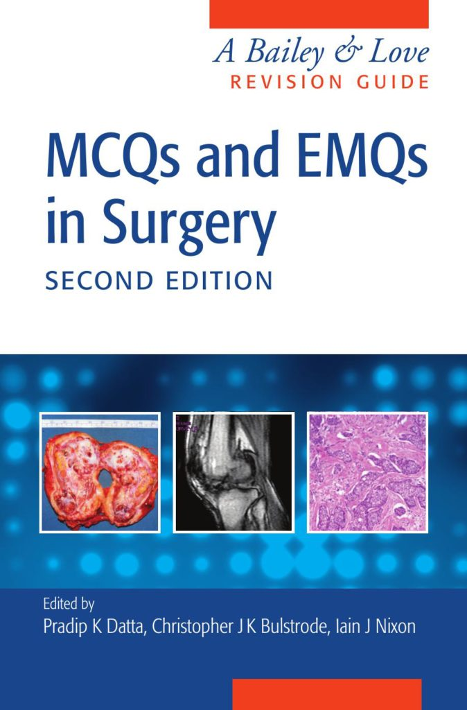 MCQs and EMQs in Surgery 2nd Edition PDF
