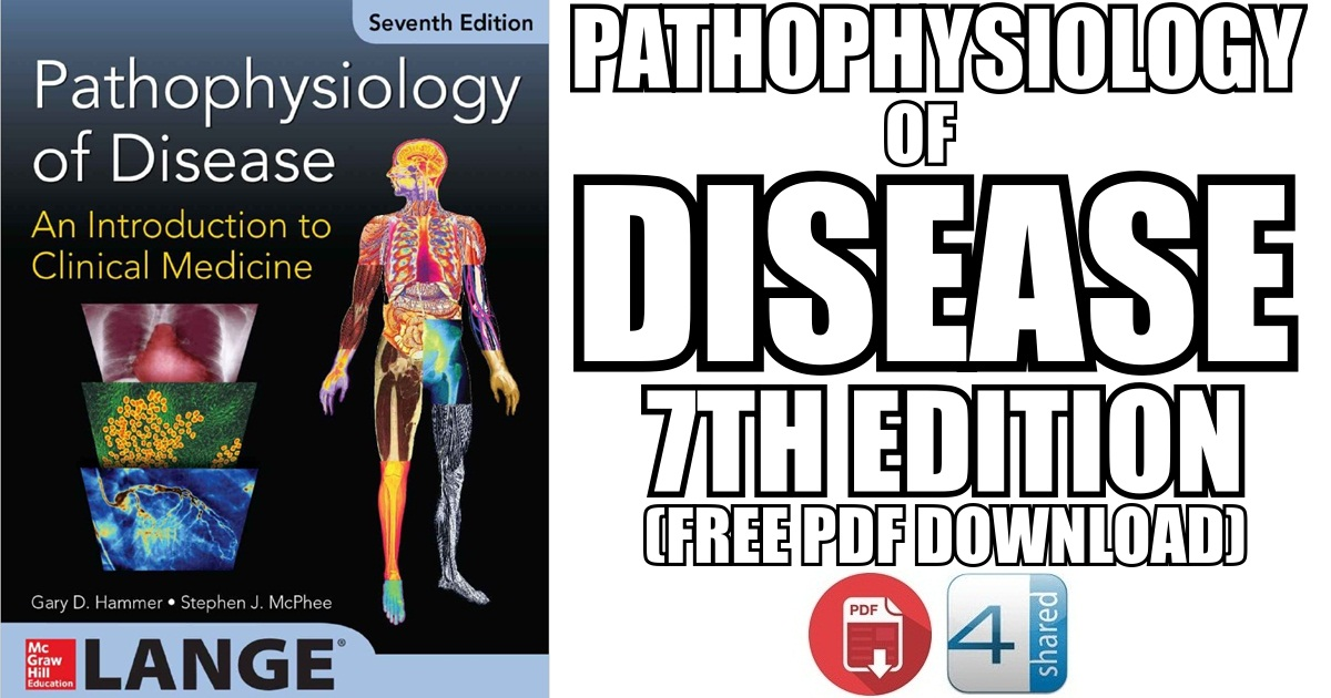 Pathophysiology of Disease 7th Edition PDF Free Download [Direct Link]
