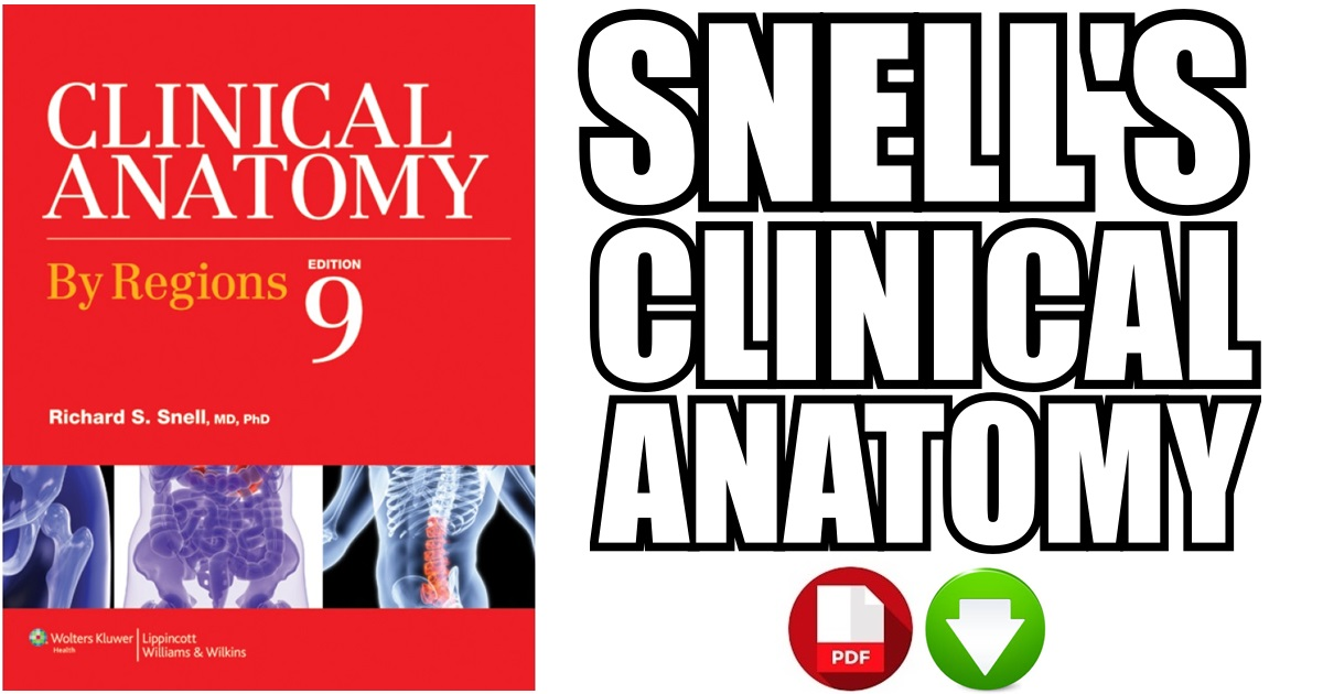 Snell\'s Clinical Anatomy 9th Edition PDF Free Download [Direct Link]