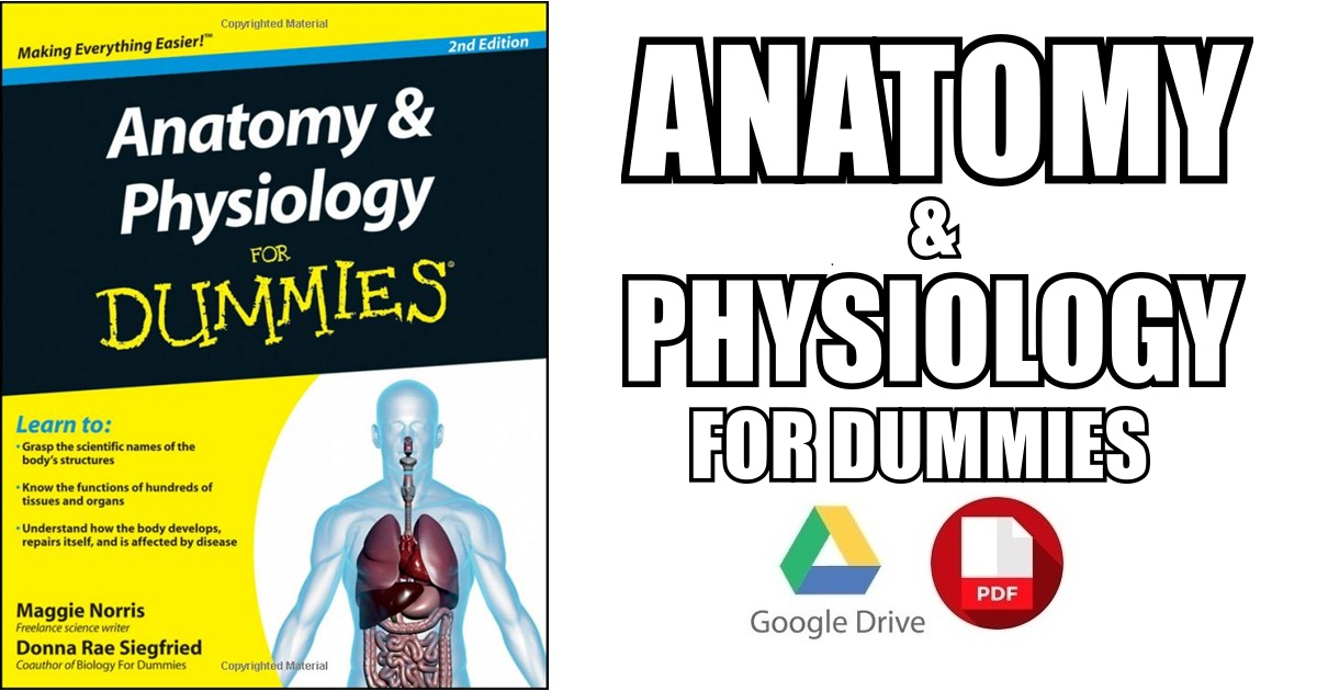anatomy and physiology for dummies pdf - Dolap.magnetband.co