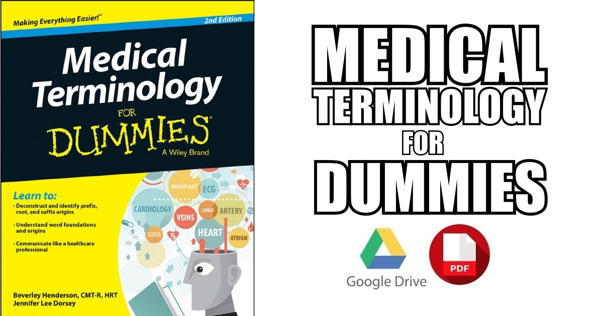 Anatomy And Physiology For Dummies PDF Free Download | Medicos Republic