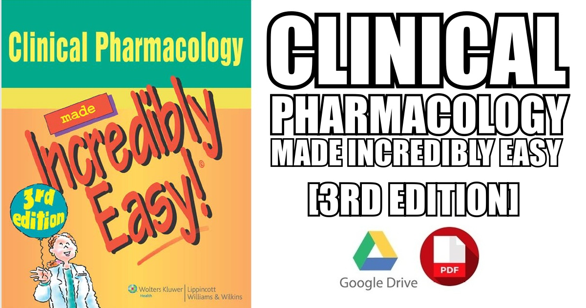 pharmacology made incredibly easy pdf - Dolap.magnetband.co
