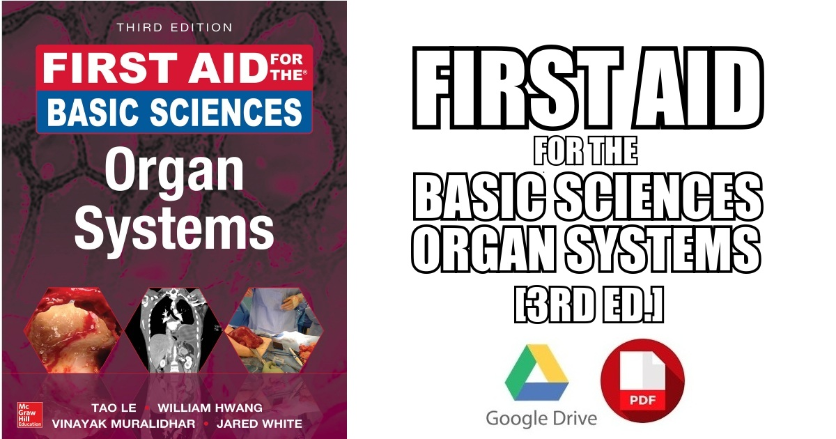 First Aid for the Basic Sciences: Organ Systems PDF Free Download