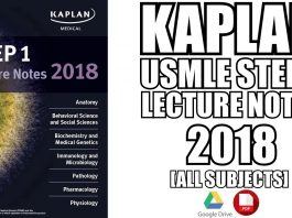 USMLE Step 1 Lecture Notes 2018 PDF