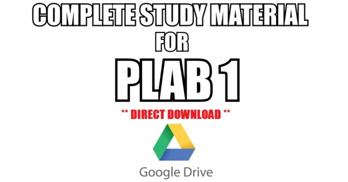 complete study material for plab 1 free pdf download