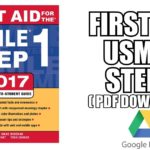 First Aid for the USMLE Step 1 2017 (2017) (Book Cover)