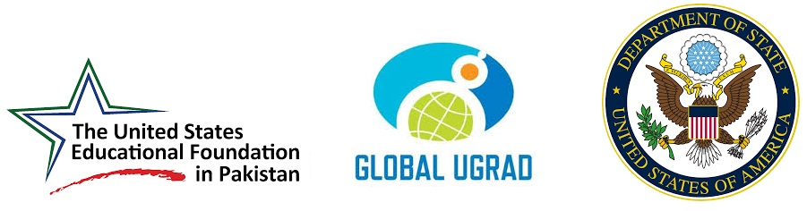 USEFP, Global UGRAD and State Department USA logos.