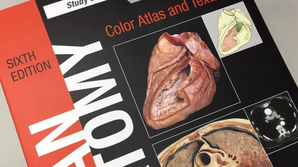 Human Anatomy: Color Atlas and Text book 6th Edition 2017 (Cover Image)