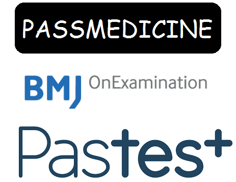 Passmedicine, OnExamination and Pastest Logo