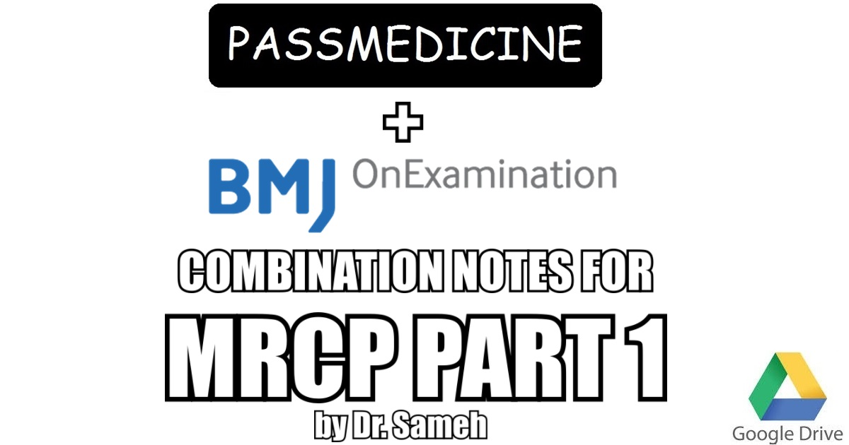Onexamination Mrcp Part 1 Pdf
