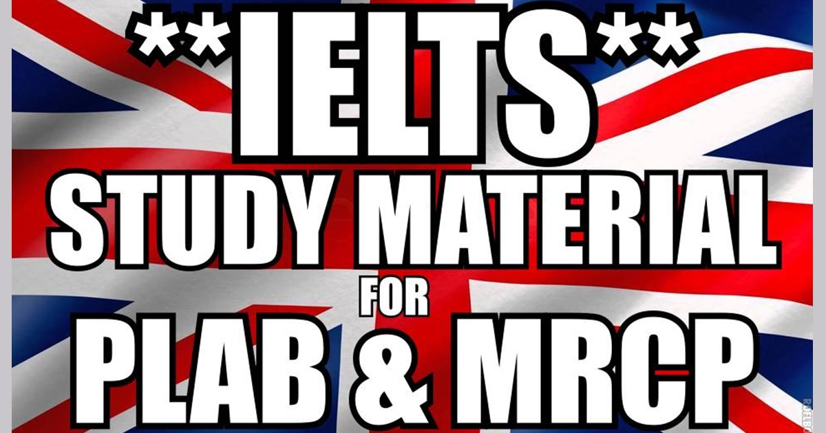 All in one ielts study material for plab mrcp gmc registration fandeluxe Gallery