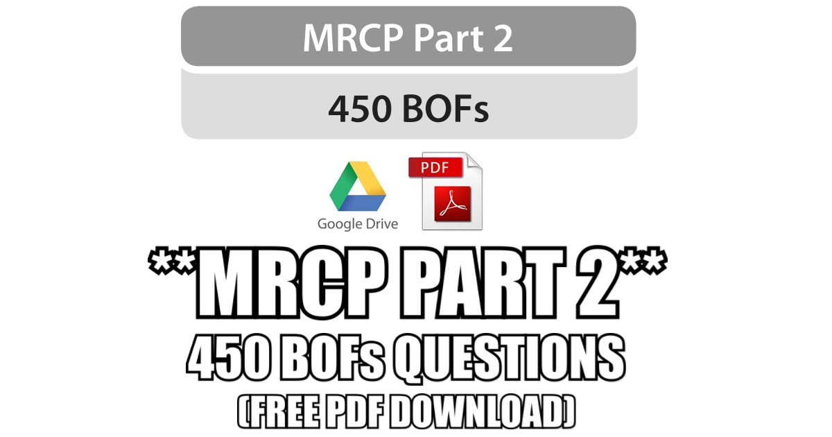 Mrcp part 2 450 bofs best of five questions pdf free download fandeluxe Gallery
