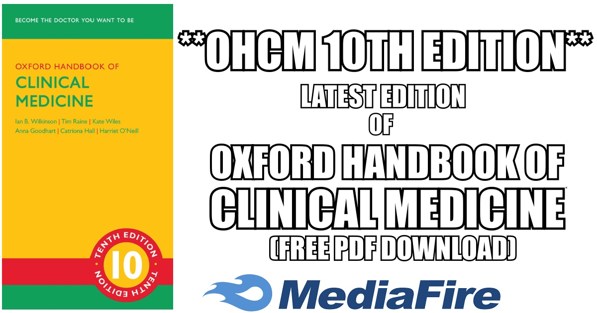 Oxford handbook of clinical medicine 10th edition pdf free download fandeluxe Gallery