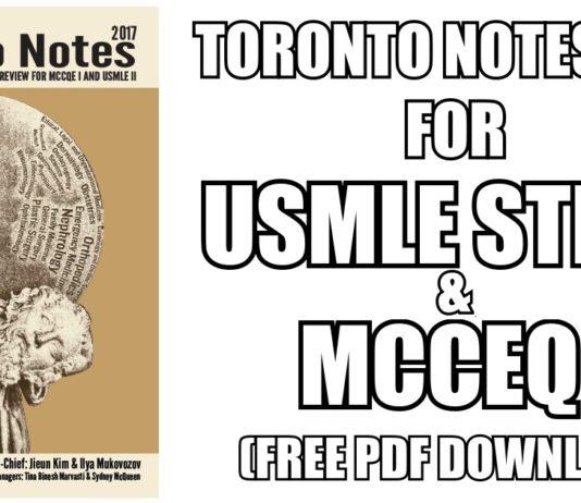Toronto Notes 2017 PDF