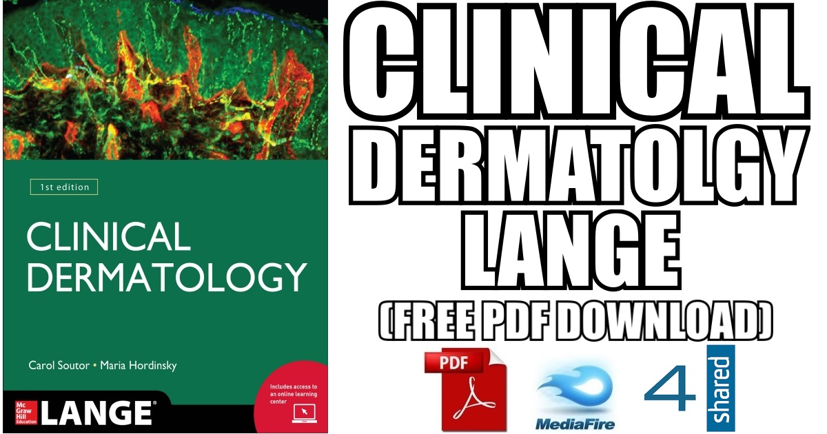 Clinical Dermatology Lange 1st Edition PDF (Book Cover)