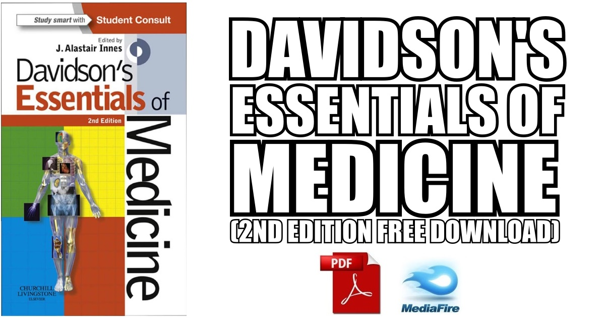 Davidson's Essentials of Medicine 2nd Edition PDF (Cover Image)