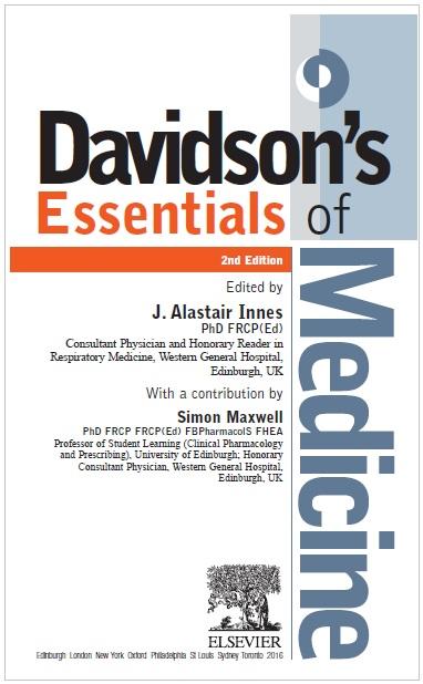 Davidson's Essentials of Medicine 2nd Edition PDF (Cover Image)