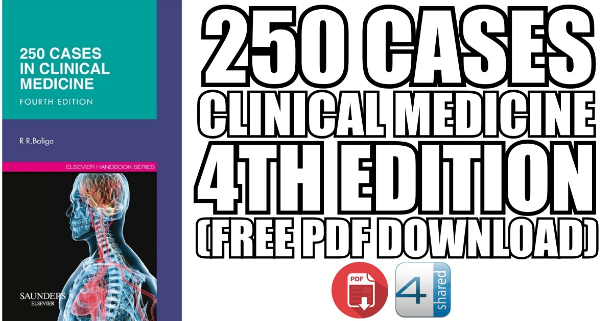 250 Cases in Clinical Medicine 4th Edition (Book Cover)