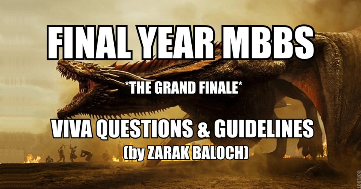 Final Year MBBS Viva Questions and Complete Survival Guide