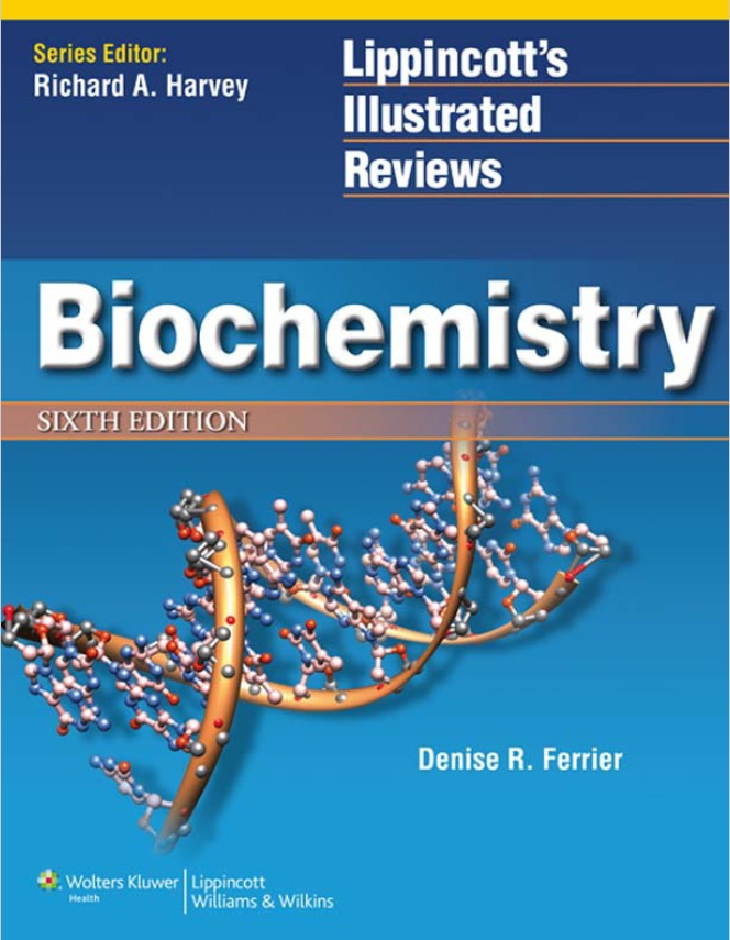 Lippincott Biochemistry 6th Edition PDF (Book Cover)