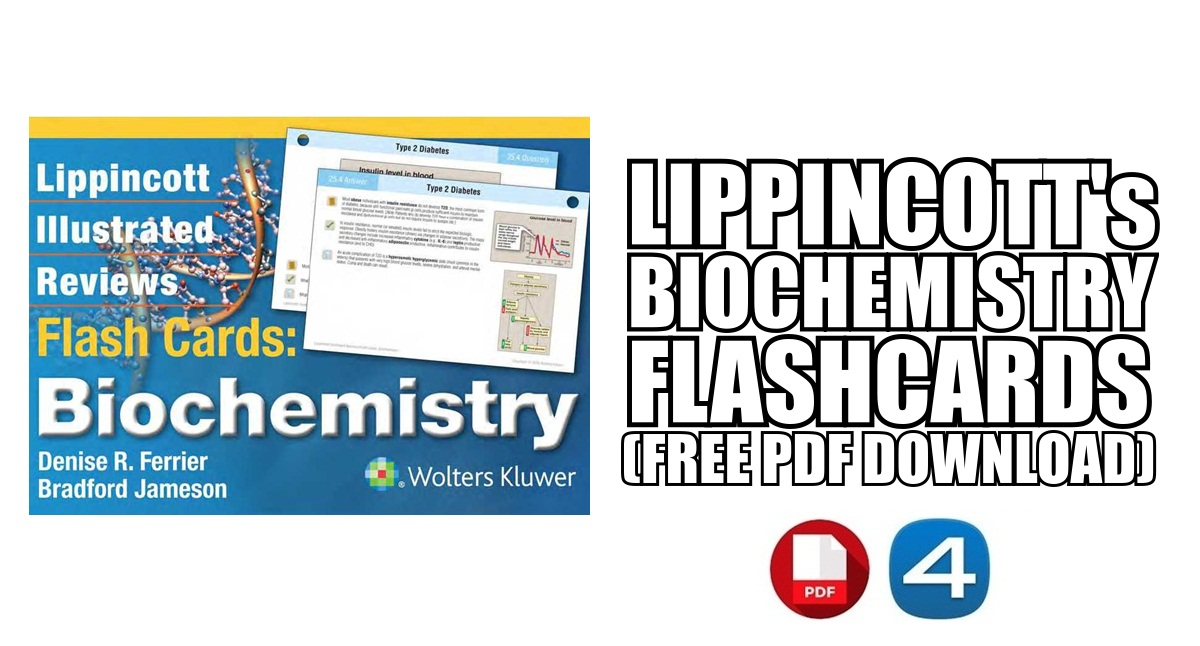Lippincott Biochemistry Flash Cards PDF Free Download [Direct Link]