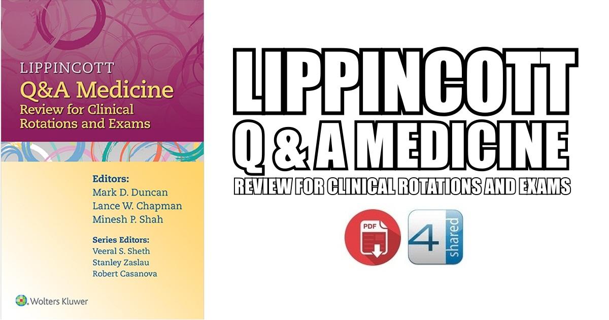 Lippincott Q&A Medicine PDF