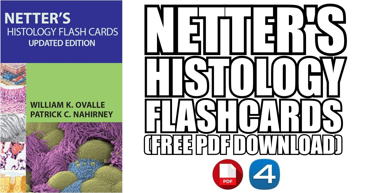 Netter\'s Histology Flash Cards PDF Free Download [Direct Links]