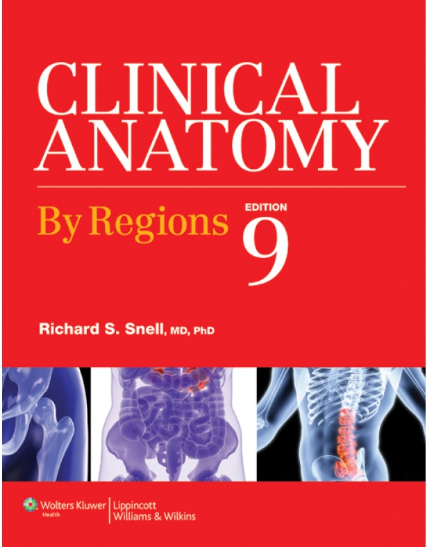 Snell's Clinical Anatomy 9th Edition (Book Cover)