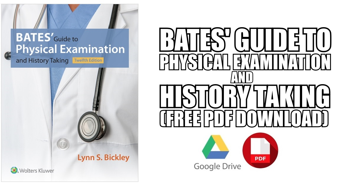 Bates' Guide to Physical Examination PDF