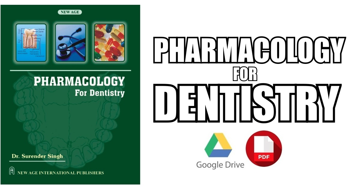 Pharmacology for Dentistry PDF Free Download [Direct Link]