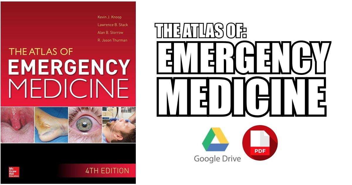 Atlas of Emergency Medicine 4th Edition PDF