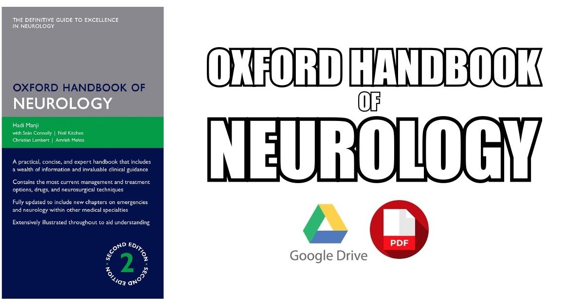 Oxford Handbook of Neurology 2nd Edition PDF Free Download