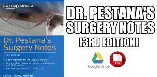 Dr. Pestana's Surgery Notes PDF