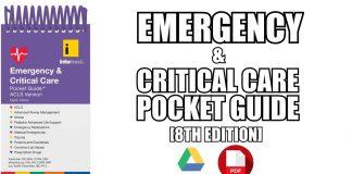 Emergency & Critical Care Pocket Guide PDF