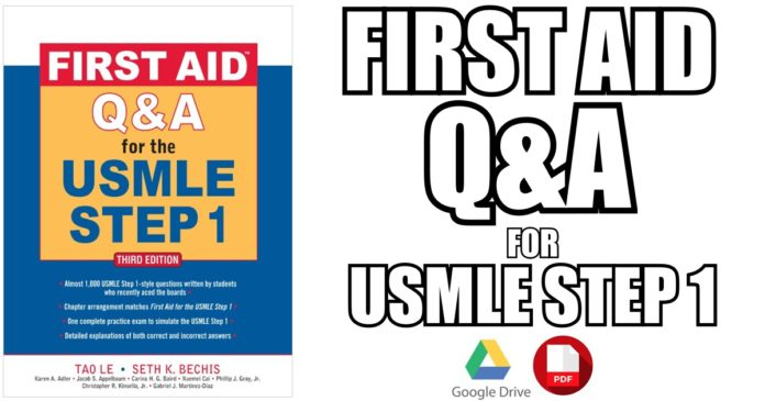 First Aid Q&A for the USMLE Step 1 PDF