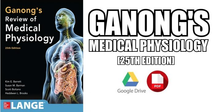 Ganong's physiology PDF
