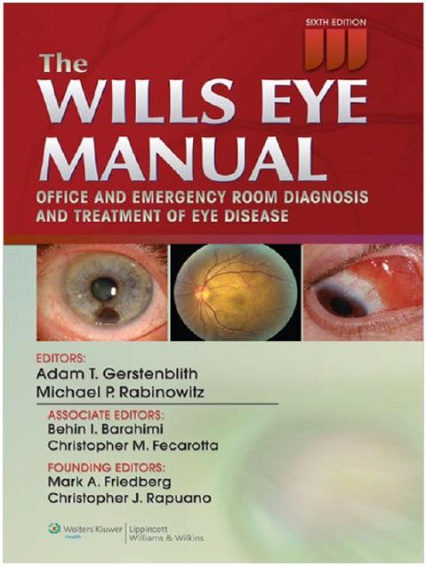 The Wills Eye Manual PDF Free Download [Direct Link]
