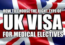 UK visa for clinical electives