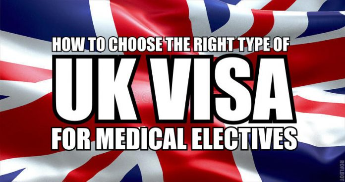 UK visa for clinical electives