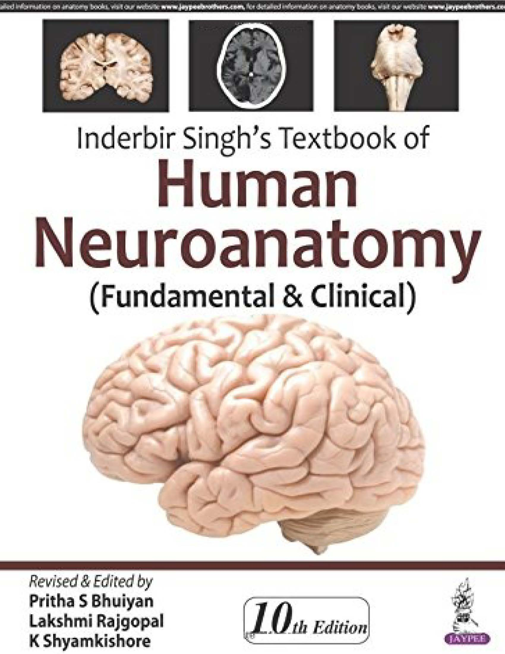 Inderbir Singh\'s Textbook of Human Neuroanatomy PDF Free Download