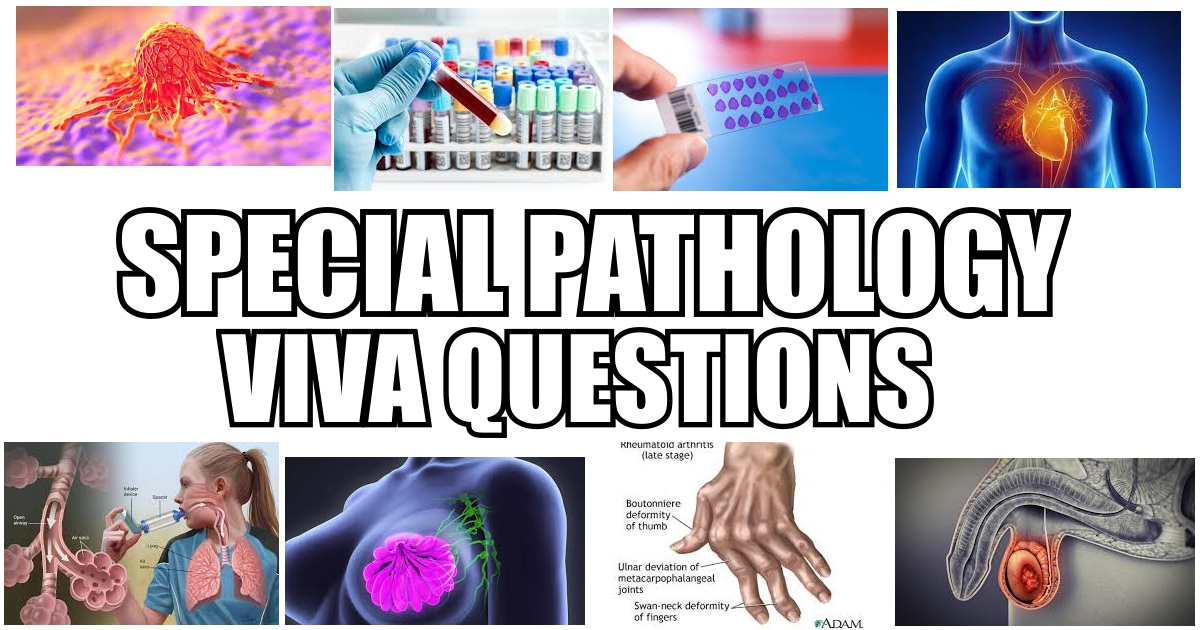 Special Pathology Viva Questions
