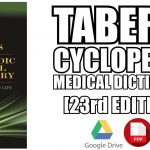 Taber's Cyclopedic Medical Dictionary 23rd Edition PDF